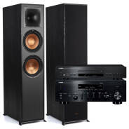 Klipsch R-820F Reference + YAMAHA R-N803D + CDS-300 Zestaw stereo