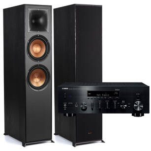 Klipsch R-820F Reference + YAMAHA R-N803D Zestaw stereo