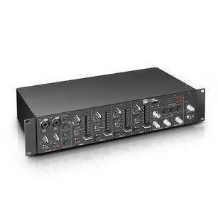 LD Systems ZONE 423 dwustrefowy mikser rack