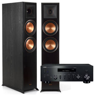 Klipsch RP-6000F Reference Premiere + Yamaha R-N602 Czarny