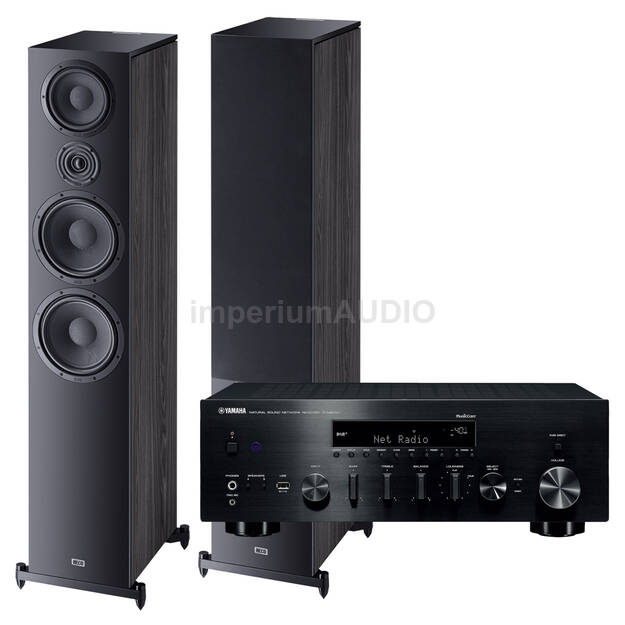 Heco Aurora 1000 + Yamaha R-N803D Amplituner stereo z MusicCast
