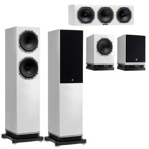 FYNE AUDIO F502 + F500 + F500C Zestaw kolumn 5.0 GLOSS